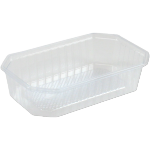 Container, PS, 600ml, 187x46x46mm, transparent