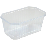 Container, PS, 1000ml, 187x80x80mm, transparent