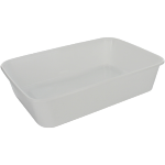 Container, PP, 500ml, kilo container, 174x120x40mm, white