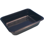 Container, PP, H320, menu container, 312x245x50mm, black