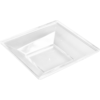 Depa Catering serving tray , amuse dish, PS, square , 80x80mm, transparent
