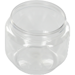 Bottle, pET bottle, PET, round jar, clear, 250ml, transparent