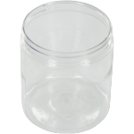 Bottle, pET bottle, PET, round straight-sided jar, 260ml, transparent