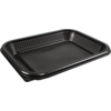 Container, PP, 450ml, menu container, 227x177x28mm, black