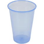 Drinking cup, PP, 200ml, blue
