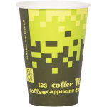 Retro®, Hot cup, Retro Fresco, Cardboard and plastic, 180ml, green