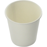 Hot cup beker, Karton en kunststof, 280ml, 10oz, wit