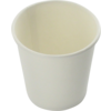 Hot cup beker, Karton en coating, 100ml, 4oz, wit