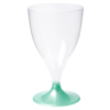 Glas, weinglas, PS, pearl, 200ml, tiffanyblauw