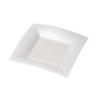 Depa Plate, square ,  dessert plate, pearl, PP, 180x180mm, white