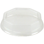 Lid, APET, octagon, transparent