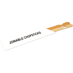 Baguettes chinoises, Bambou, 180mm, naturel