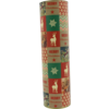 Tube, Wine bottle, round, Christmas , Ø 90mm, 330mm,