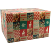Christmas gift box, Cardboard, 350x315x170mm, Christmas ,