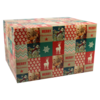 Christmas gift box, Cardboard, 550x390x300mm, Christmas ,
