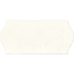 Label, Price label, Paper, 26x12mm.white