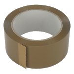 Packing tape, PP, 48mm, 66m, brown