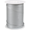 Ribbon, 7.5mm, 250m, silver