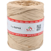 Raffia, 15mm, 200m, naturel.