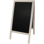 Pavement board, Wood, 71x130cm, wit.