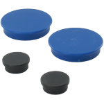 Magnets, 20mm, black.