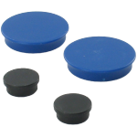 Magnets, 38mm, blue.