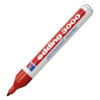 Edding Felt pen, Type: 3000, Felt-tip pen, Red.
