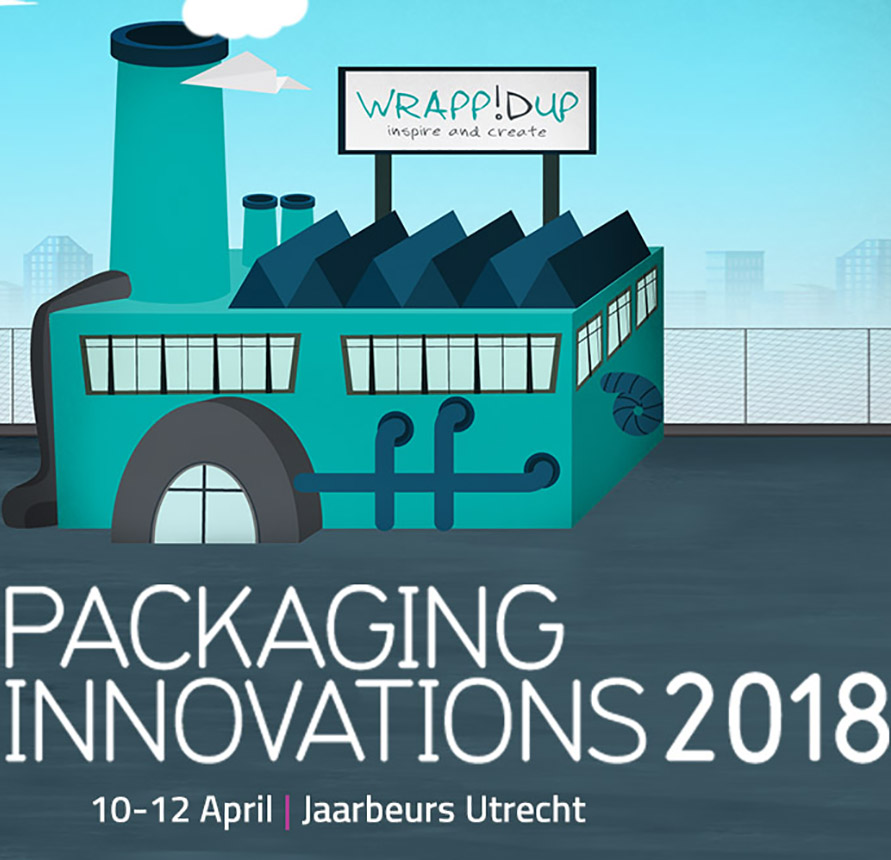 Beleef WrappIDup tijdens Packaging Innovations 2018