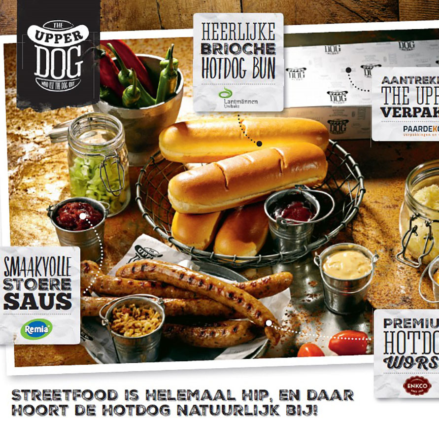 Helemaal hot! The Upperdog!