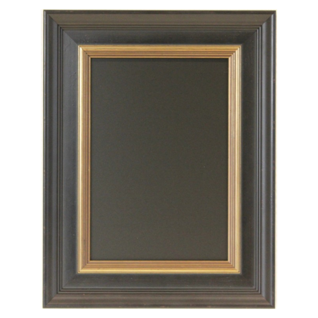 Chalkboard, wood, 51x71cm, black 1