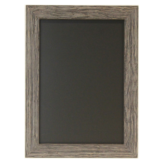 Chalkboard, wood, 36x36cm, Anthracite. 1