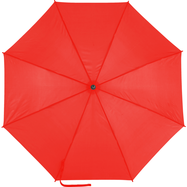 Umbrella, automatic, red 1