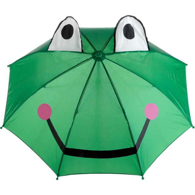 Umbrella, kinderen, green 1