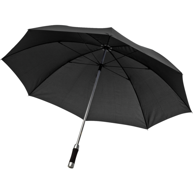 Umbrella, manual, black 1