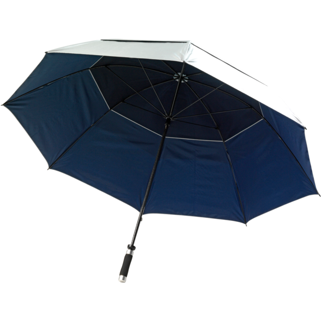 Umbrella, storm, blue 1
