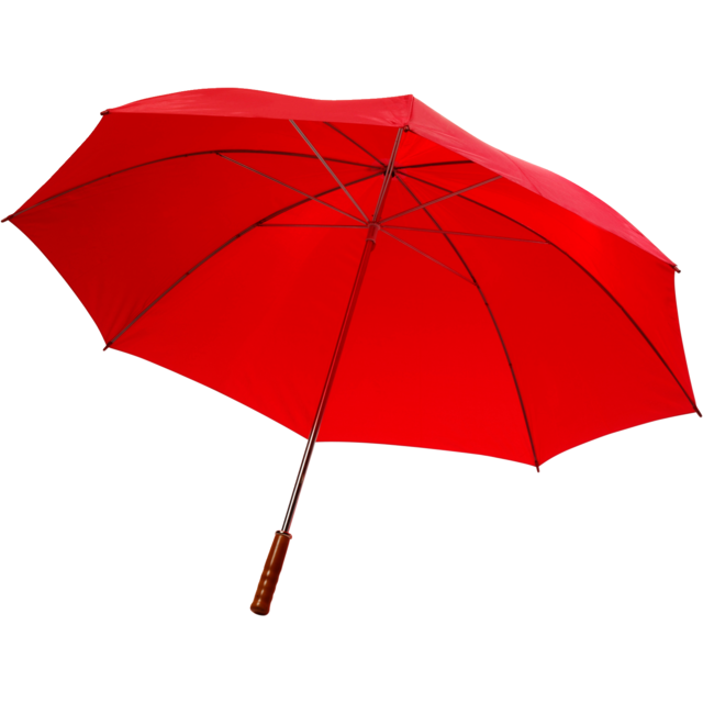 Umbrella, golf, red 1