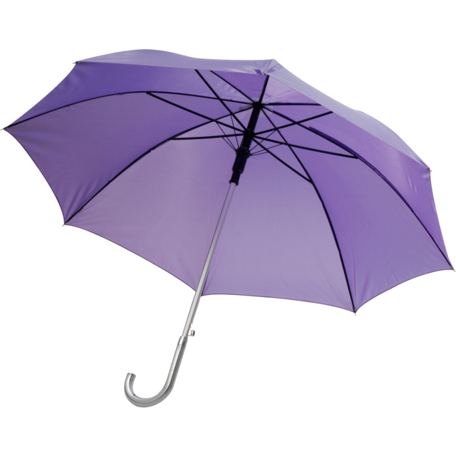 Umbrella, automatic, purple 1