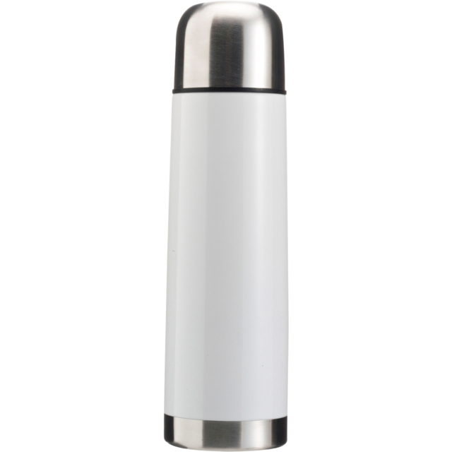 Bottle, thermosfles, Stainless steel, 500cc, white 1