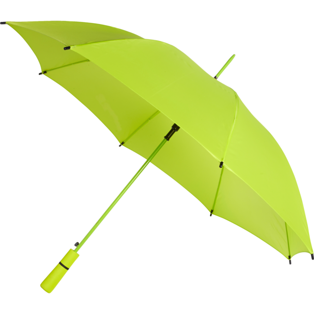 Umbrella, automatic, lime 1