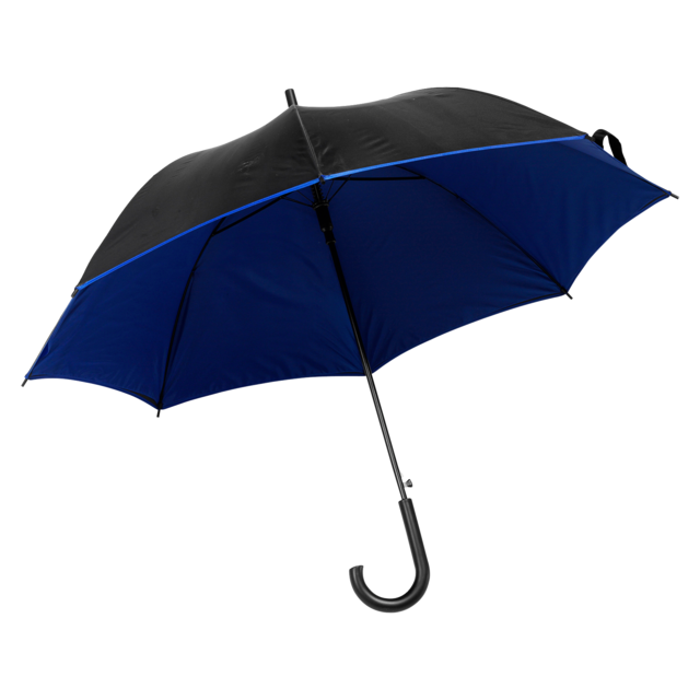 Umbrella, automatic, blue 1