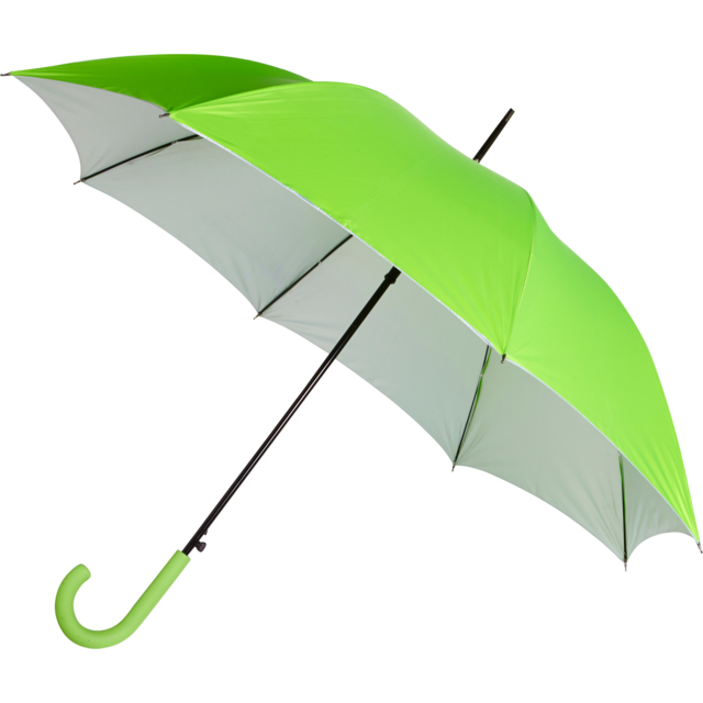 Umbrella, automatic, neon Green 1
