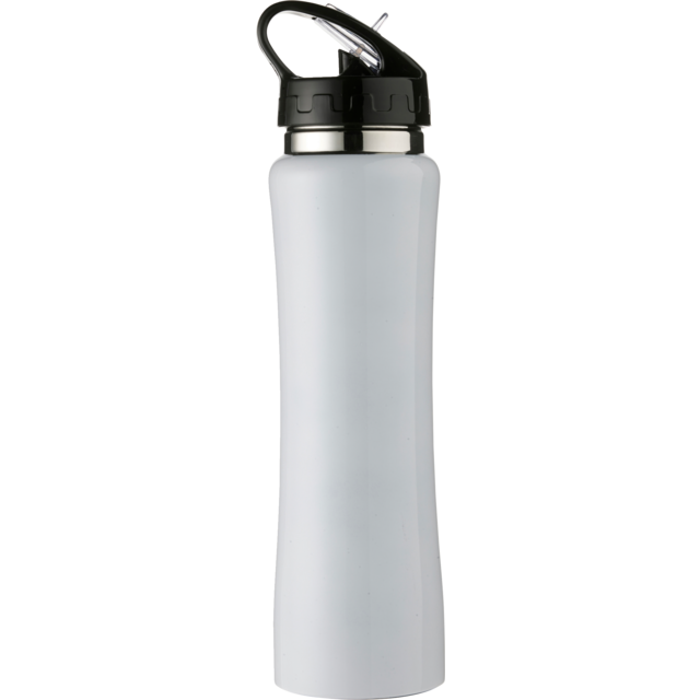 Bottle, drinkfles, Stainless steel, 500cc, white 1