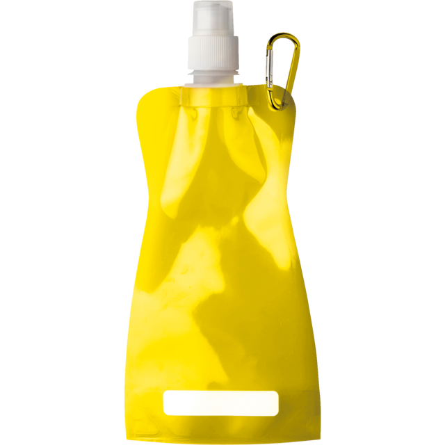 Water bottle, Ø12cm, 420cc, 26gr, 27,3cm, yellow. 1