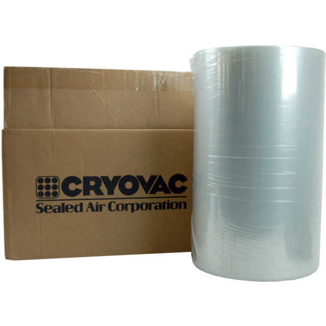 Cryovac Film, film rétractable, PEBD, 1000m, 405mm, 19my,  1