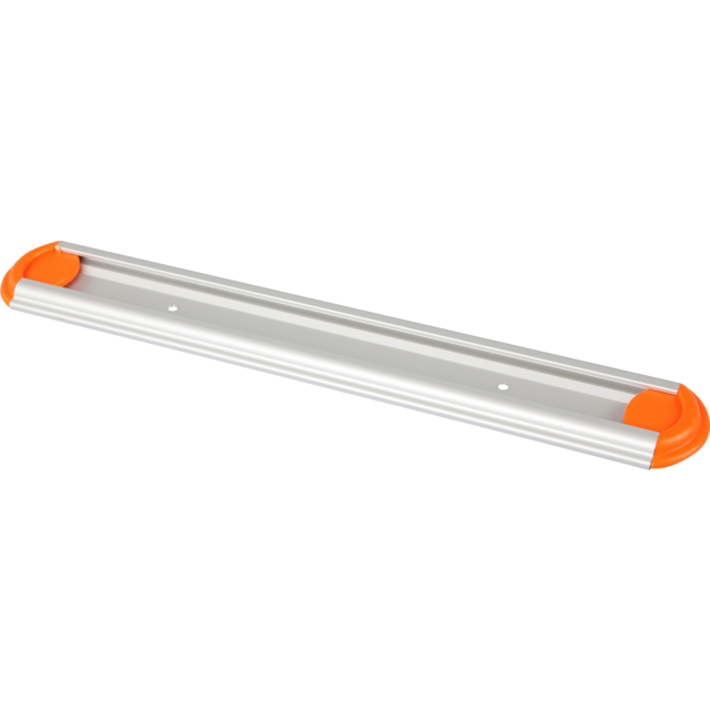 Qleaniq® Hanging rail, eindstop, orange  1
