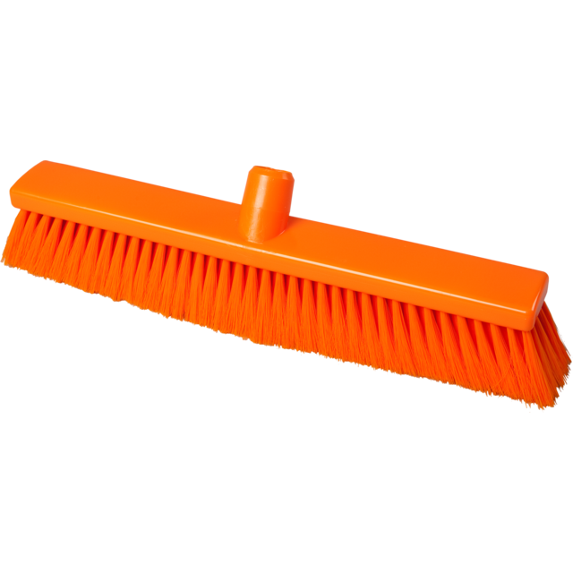 Qleaniq® Sweeper, Polyester, extra zacht, orange  1