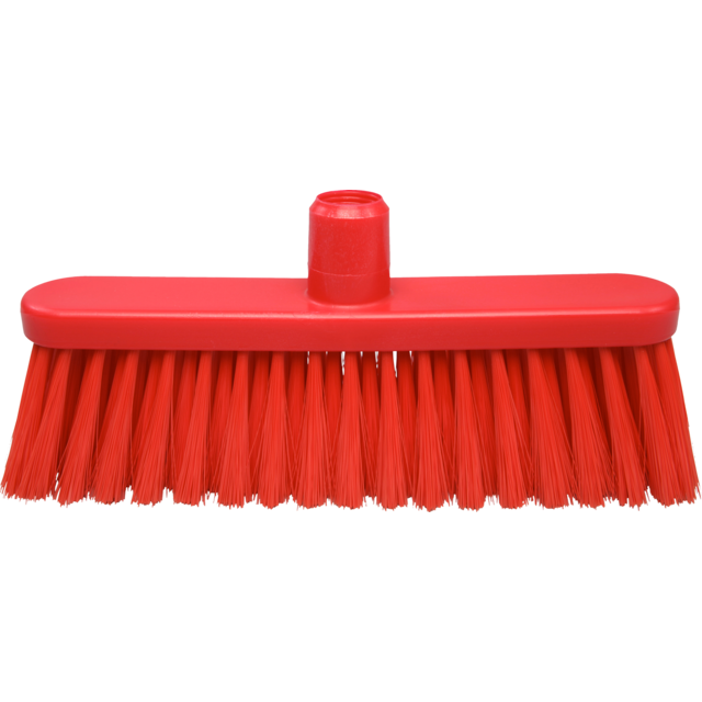 Qleaniq® Broom, zacht, red 1