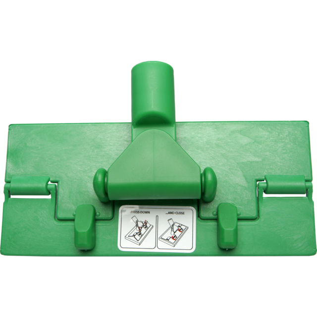Qleaniq® Floor pad holder, green 1