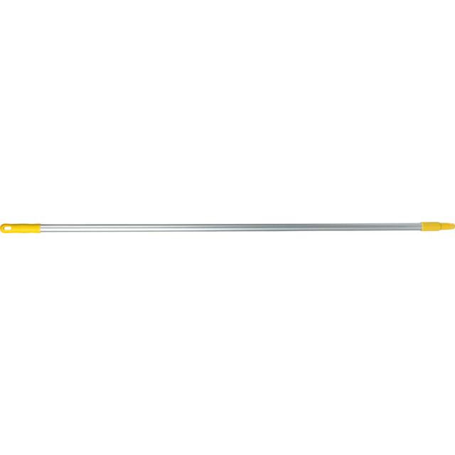 Qleaniq® Handle/rod, Aluminum, 1500mm, yellow 1