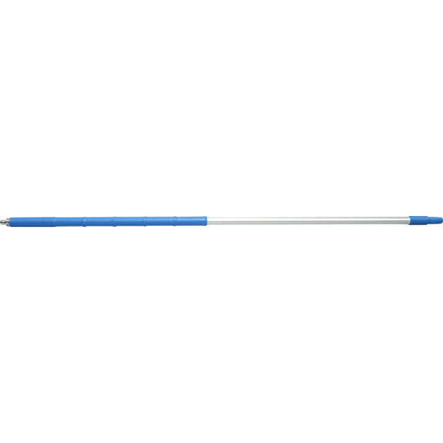 Qleaniq® Handle/rod, Aluminum, 1750mm, blue 1